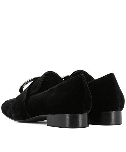 DORATEYMUR Femme HARPUTFD0RWHP0109040BLACK Noir Velours Mocassins