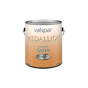 Medallion 100 Acrylic Exterior Latex Satin House And Trim Paint Pack Of 4