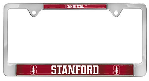 All Metal NCAA Mascot License Plate Frame (Stanford)
