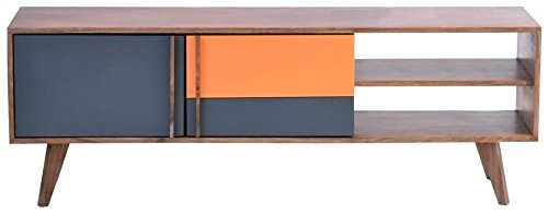 (Moe's Home Collection Gliss Sheesham Rosewood TV Cabinet)