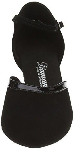 Diamant Damen Tanzschuhe 049-106-106, Zapatos de Baile Standard & Latino Para Mujer Negro (Schwarz)