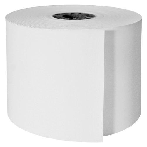 DayMark ACR-1350SM Paper Cash Register Tape Roll, 1-Ply, White, 165' Length x 3