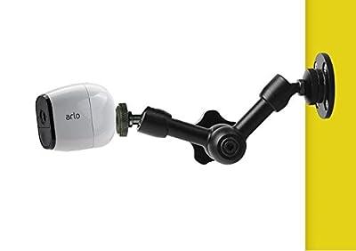6'' inch Magic Arm Wall Mount Holder Stand Bracket for NetGear Arlo,Arlo pro,Arlo go Security Cameras