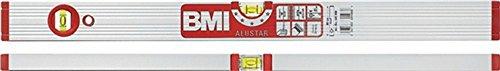 Wasserwaage ALUSTAR 691M L.40cm Alu. silberf.elox. m.Magnet max.0,5mm/m BMI