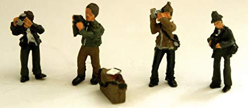 Langleyモデル4Photographer Figures +カメラボックスOOスケール未塗装キットf295