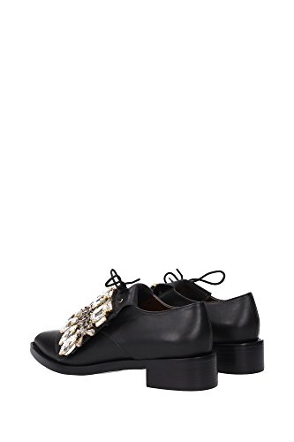 Mujer de CARACALFBLACK GEDEBE Zapatos Cordones Negro EU twRaqP5
