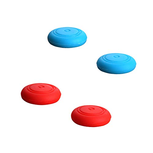 GorNorriss Electronics Gadgets 4 Pairs Silicone Gel Thumb Grips Caps for Nintend Switch Controller (Multicolor)