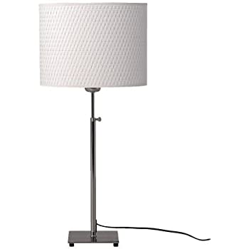 Amazon ikea 50029162 alang table lamp nickel plated white ikea 50029162 alang table lamp nickel plated white aloadofball Choice Image