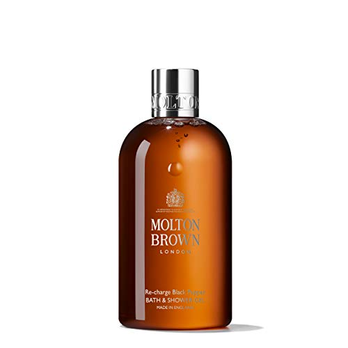 Molton Brown Womens Re Charge Black Pepper Bath Shower Gel 300Ml
