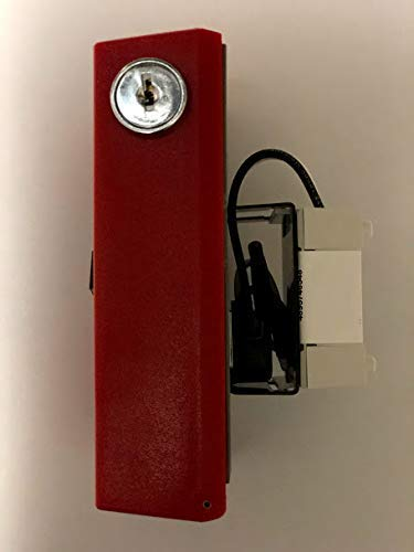 EST Edwards SIGA-278 Intelligent Double Action One Stage Pull Station, Red