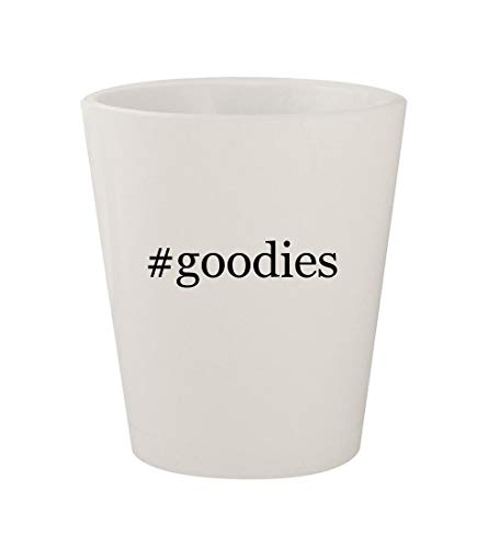 #goodies - Ceramic White Hashtag 1.5oz Shot Glass for sale  Delivered anywhere in USA