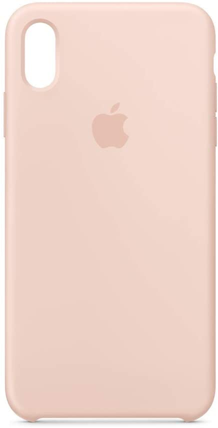 Apple Silicone Case (for iPhone Xs Max) - Pink Sand