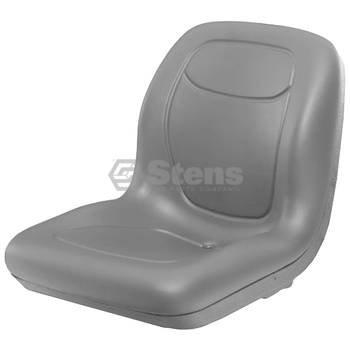 - Stens 420-282 High Back Seat, Multi-hole mounting pattern, Waterproof vinyl, Simplicity: 5061599, 5061599SM, Toro: 112-2923, 119-8829, 99-7281, 18-5/8