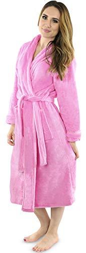 NY Threads Womens Fleece Bathrobe