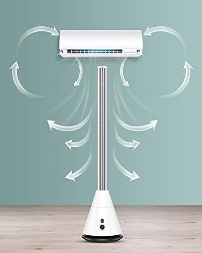 HEN\'GMF Ventilatore Senza Lama con Telecomando Ventilatore Silenzioso, Ventilatori Elettrici Silenziosi Eccellenti di Raffreddamento di Sonno, per Lavoro Studio Sonno