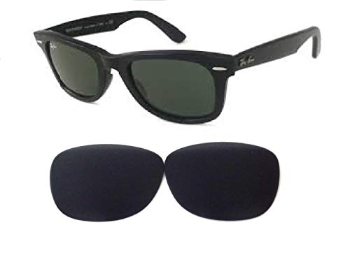 Galaxy Replacement Lenses For Ray-Ban RB2140 Original Wayfarer Black Polarized (54mm Not ()
