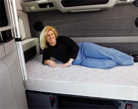 InnerSpace 6.5 in. Truck Luxury Reversible Mattress - Quilted Both Sides