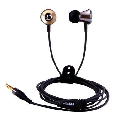 DUNU DN-12 Trident Metal Full Range Noise-Isolation Earphones, Earbuds with Elegant and Powerful Design
