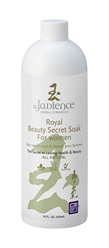 Royal Beauty Secret Bath Soak by Jadience: Natural Hormone Balance for Women | Hot Flash Relief | Relieve Stress, Anxiety & Emotional Imbalances |Increase Energy Stamina and Endurance - 16oz Soak