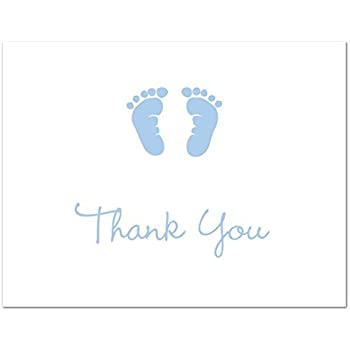 AmazonCom  Cnt Grey Blue Chevron Elephant Baby Shower Thank You