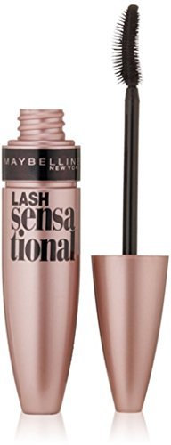 Maybelline New York Lash Sensational Mascara, Very Black [01] 0.32 oz (Pack of 6)