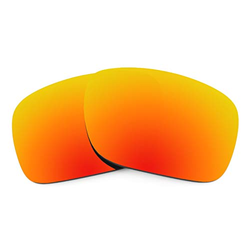 (Revant Polarized Replacement Lenses for Oakley Holbrook Elite Fire Red MirrorShield)