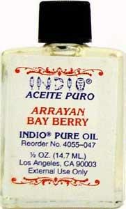 Indio Pure Fragranced Bayberry Oil 1/2 fl. oz. (14.7ml)