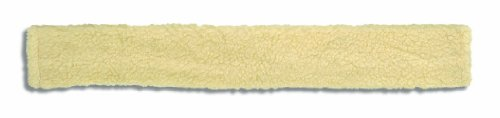 Cottage Craft Simulated Sheepskin Girth Sleeve - Off-White
