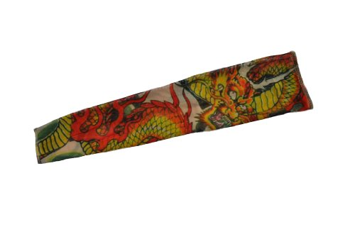 Sussex Supplies Fake Tattoo Sleeve - Chinese Dragon Design T103 (Dragon Tattoo Designs)
