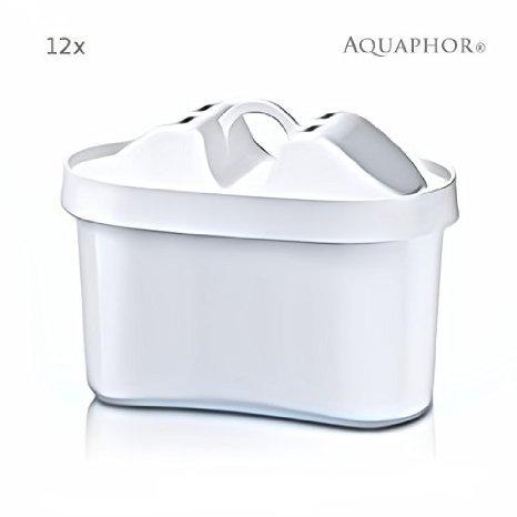 12 x MAXPHOR Wasserfilter Wechselkartusche-B100-25. Ersetzt Brita* Maxtra Kartuschen. Neue Generation der Filterkartuschen - Kannenfilter Aquaphor mit AQUALEN® Filtertechnologie ! AQUAPHOR Filter - Die Alternative. 170 Liter Filterkapazität. Hochleistungs-Wasserfilter EU-Produkt / in EU produziert. Passend für Aquaphor