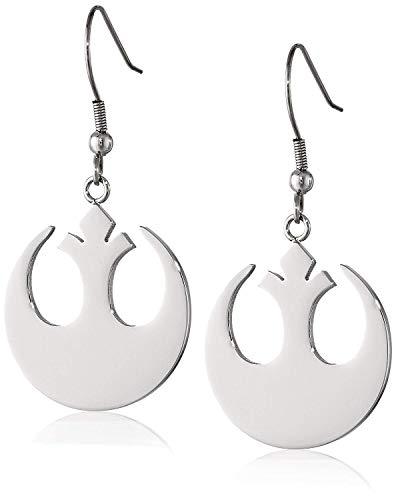 Star Wars 925 Sterling Silver Rebel Alliance Drop & Dangle Earrings Gifts Jewelry For Women & Girls from Crafts Avenue