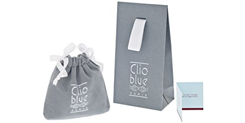 Clio Blue Anneau New Bagues en argent 925, 9.5g, T54