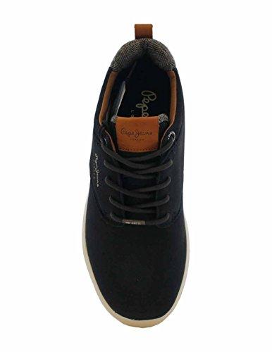 Jayden Basse Scarpe Ginnastica Jeans London da Nubuck Pepe Uomo Blue fnOExq0