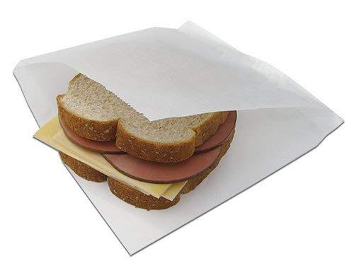 7x6.75'' Waxed Sandwich Sleeve (Open 2 Sides) 2,000 per case McN # 320071