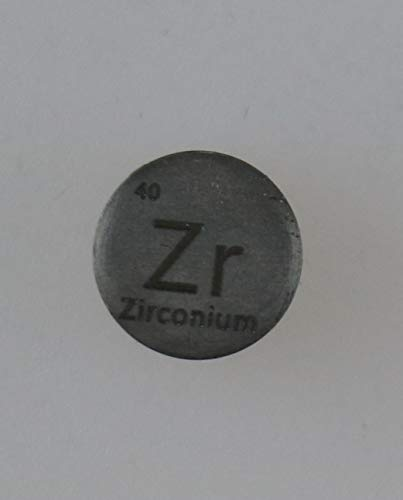 (Zirconium (Zr) 10mm Metal Cylinder 99.95% Pure for Collection or Experiments)