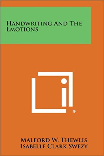 Book Handwriting and the Emotions