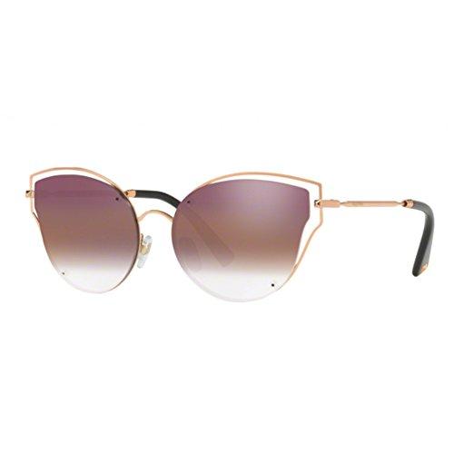Valentino VA2015 3004E7 Rose Gold VA2015 Butterfly Sunglasses Lens Category 2 - Valentino Sunglasses Mens