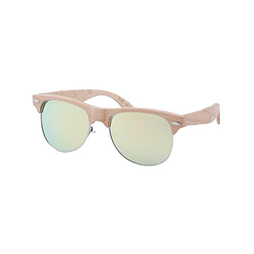 RSEyewear SW3032M3RP1 Savage Polarized Beech Wood Frames Sunglasses, - Sunglasses Rs