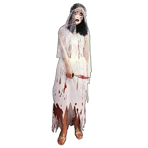 Fashion Cosplay Halloween Show Costume Horror Costume Bloody Doctor Female Nurse Service Clothing