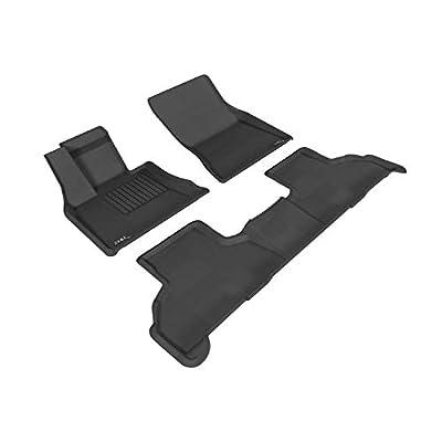 3D MAXpider L1BM05501501 Complete Set Custom Fit All-Weather Floor Mat for Select BMW X5 (F15)/ X6 (F16) Models - Kagu Rubber (Gray): Automotive