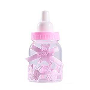 12 X Favour Feeding Bottle Candy Bottle Party Favour Boxes Gift Box Bag For Favours, Sweets, Gifts & Jewelry For…