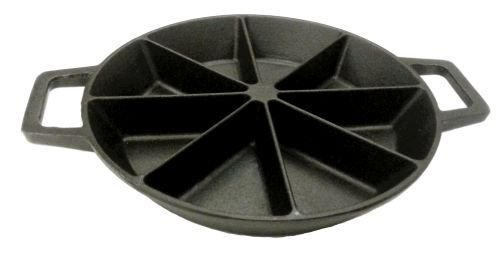 Bayou Classic 7478 10-in Cast Iron Cornbread Wedge Skillet