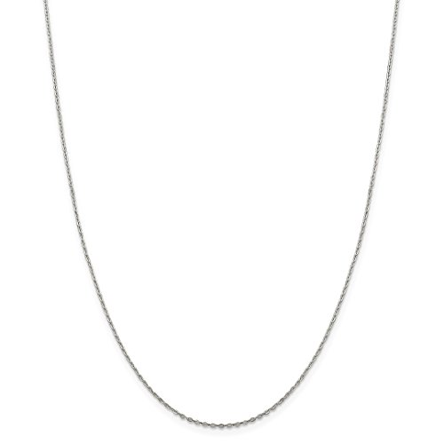 925 Sterling Silver .5mm Flat Link Cable Chain Necklace 18 Inch Pendant Charm Fine Jewelry For Women Gift Set