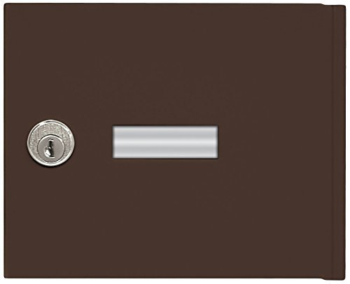 Salsbury Industries 3651BRZ Replacement Door and Lock Standard A Size for 4B+ Horizontal Mailbox with Keys, Bronze by Salsbury Industries