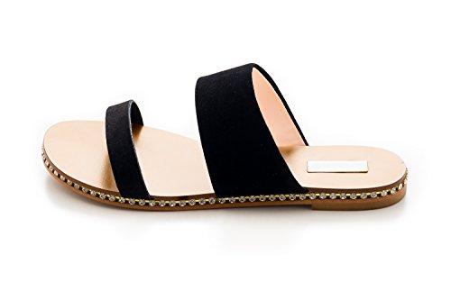 Antonio Raggini Women's Fashion Sandals Black nNiXPVXnF