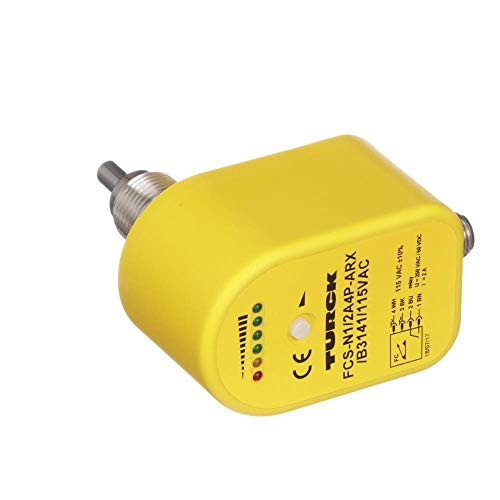 Sensor; Flow Detection; Time Delay Relay; 115VAC; 1/2-20UNF Connector; M6871037 by Turck (Image #1)