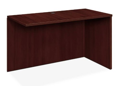 (Basyx BW2146RNN 48 by 24 by 29-Inch Return Shell, Rich Wood Veneer, Right Shell, Mahogany)