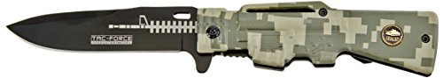 UPC 100000915707, Tac Force TF-706DG Assisted Opening Folding Knife 4.5-Inch Closed