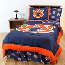 (NCAA Bed in a Bag Set Size: King, NCAA Team: Auburn )