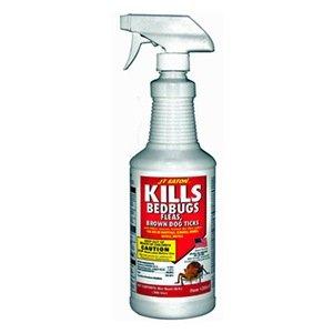 Bed Bug Spray, Pyrethrin, 1 qt.